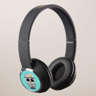 Cute Baby Snowy Owl Hippie Headphones