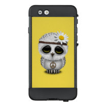 Cute Baby Snowy Owl Hippie LifeProof NÜÜD iPhone 6 Case