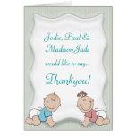 Cute Baby Thankyou Greeting Card