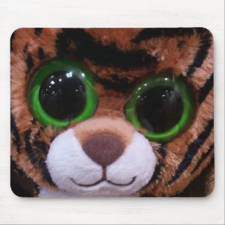Cute baby tiger mousepad