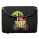 Cute Baby Tiger on Black Gifts for Kids Baby Sleeves For MacBook Pro