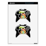 Cute Baby Tiger on Black Gifts for Kids Baby Xbox 360 Controller Decal