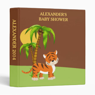 Cute Baby Tiger Photo Album Binder