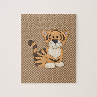 Cute Baby Tiger Jigsaw Puzzle