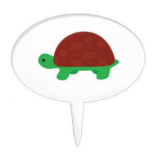 cute baby tortoise cake toppers