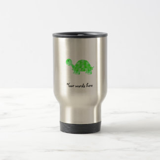 Cute Baby turtle in light green Mug