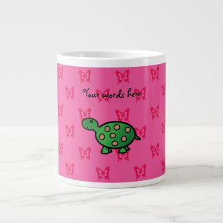 Cute baby turtle large coffee mug