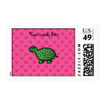 Cute baby turtle postage stamps