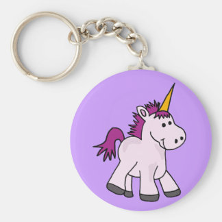 Cute Baby Unicorn Cartoon Keychain