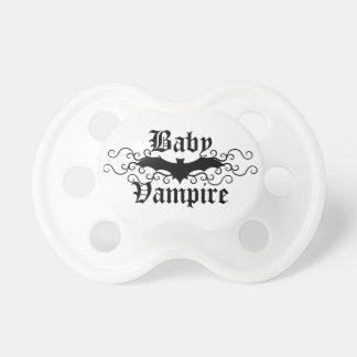 Cute baby vampire gothic bat elegant Halloween Pacifiers