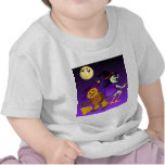 Cute baby witch t-shirt