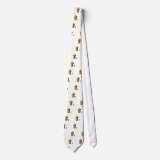 Cute baby with heart! neck tie