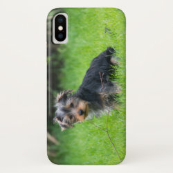 Case-Mate Barely There iPhone X Case with Yorkshire Terrier Phone Cases design