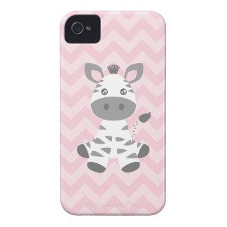 Cute Baby Zebra iPhone 4 Case-Mate Cases