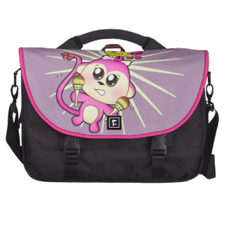 Cute baby zoo animal monkey laptop bags