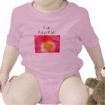 Cute Baby's Club! Pink Creeper Tees Pink Poppy