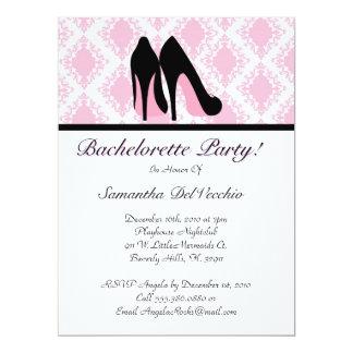 CUTE Bachelorette Party Design 6.5x8.75 Paper Invitation Card