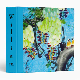 Cute Back-to-School Binder with Nature Motif