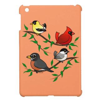 Cute Backyard Birds iPad Mini Cover