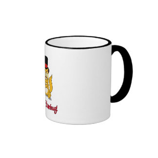 Cute Bah Humbug! Scrooge Cat Coffee Mug