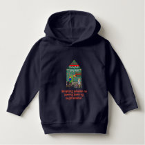 Cute Bahay Kubo Philippines, Weave Pattern Hoodie