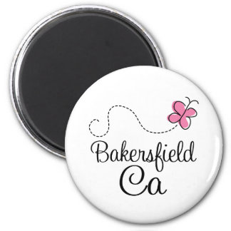 Cute Bakersfield CA California Butterfly Gift Magnet