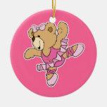 Cute Ballerina Bear Christmas Ornaments