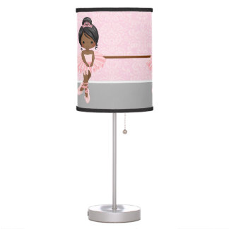 Cute ballerina desk lamp
