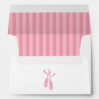 Cute Ballerina Envelope
