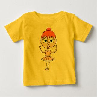 Cute Ballerina - Fifth Position Baby T-Shirt