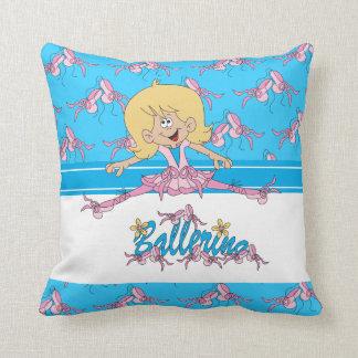 Cute Ballerina Kid's Pillow