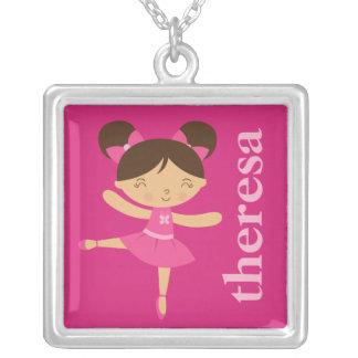 Cute Ballerina Necklace