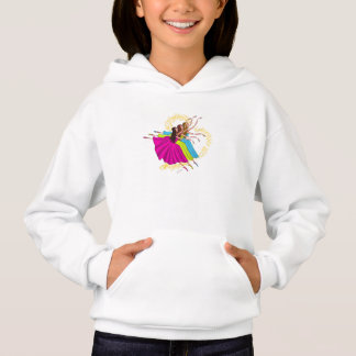 Cute Ballerinas Dancing and Jumping Hoodie