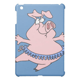 cute ballet ballerina piggy in a tutu pig cover for the iPad mini