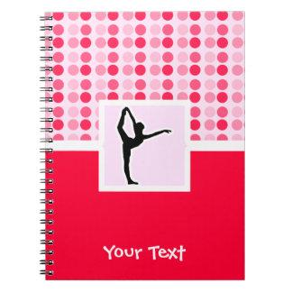 Cute Ballet Notebook