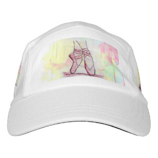 Cute Ballet shoes sketch Watercolor hand drawn Headsweats Hat