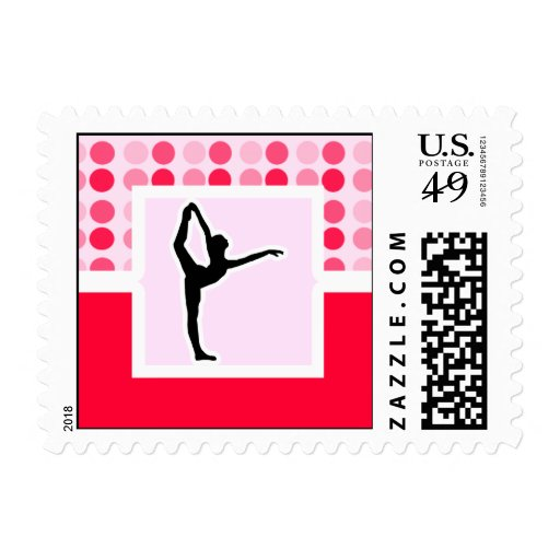 Cute Ballet Stamps