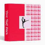 Cute Ballet Vinyl Binders