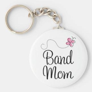 Cute Band Mom Gift Basic Round Button Keychain