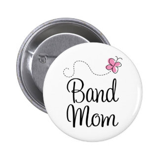 Cute Band Mom Gift Pinback Button