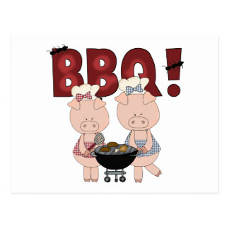 Cute Barbecue Gift Postcard