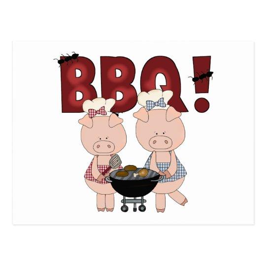 Cute Barbecue Gift Postcard