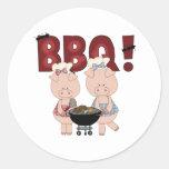 Cute Barbecue Gift Sticker