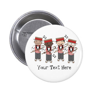 Cute Barbershop Quartet Gift Pinback Button