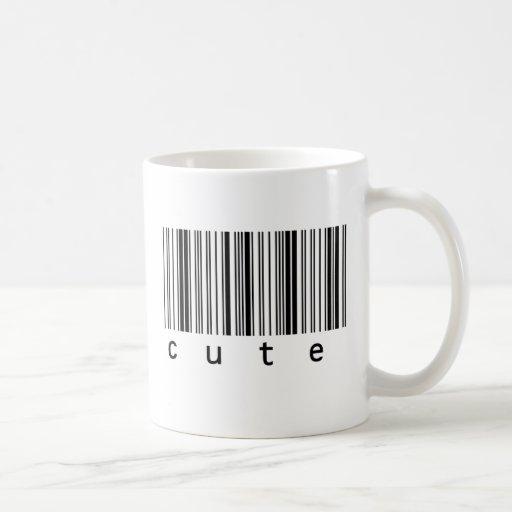 Cute Barcode Classic White Coffee Mug