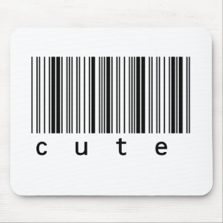 Cute Barcode Mouse Pad