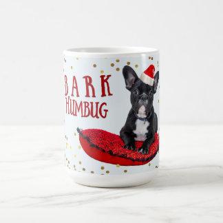 Cute BARK Humbug Dog Lovers Christmas Coffee Mug