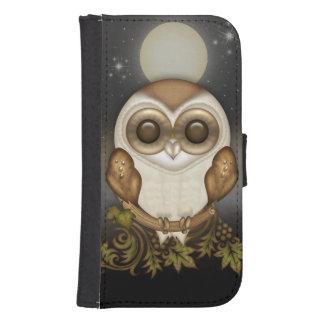 Cute Barn Owl Phone Wallet