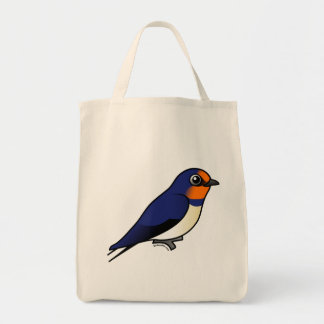 Cute Barn Swallow Tote Bag