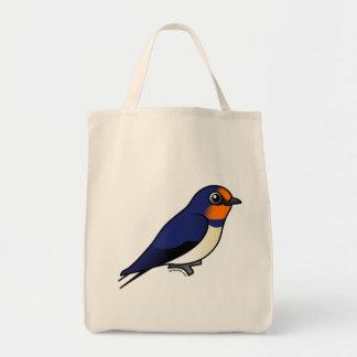 Cute Barn Swallow Tote Bag